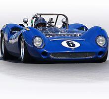 1966 Lola T70 MKII Vintage Racecar by DaveKoontz