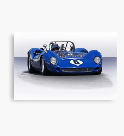 1966 Lola T70 MKII Vintage Racecar Canvas Print