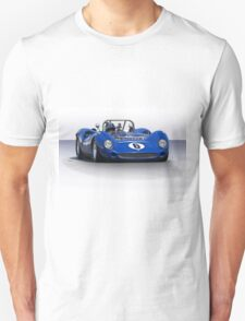 1966 Lola T70 MKII Vintage Racecar Unisex T-Shirt