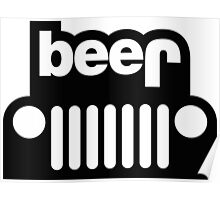 Jeep beer Poster