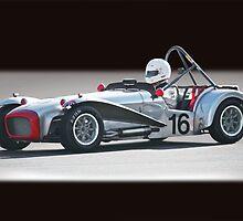1964 Lotus Super 7 Vintage Racecar by DaveKoontz