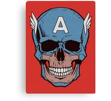 Captain Amerikilled Canvas Print