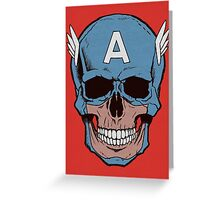 Captain Amerikilled Greeting Card