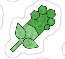 Earth Badge Cluster   Sticker