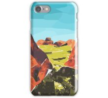 Outback print  iPhone Case/Skin