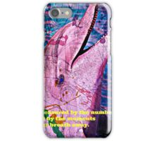 Playful Pink Dolphin iPhone Case/Skin