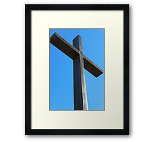 He is Risen! Framed Print