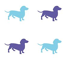 Sausage Dog Pattern by YingDude
