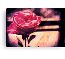 Lonely Rose Canvas Print