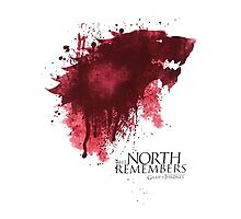 The NORTH Remembers Game Of Thrones Photographic Print