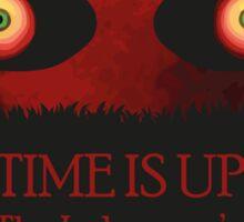 Legend of Zelda Majora's Mask Record- Time is Up Sticker
