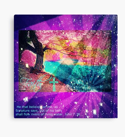 Living Water Canvas Print