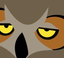 Bored Owl Sticker