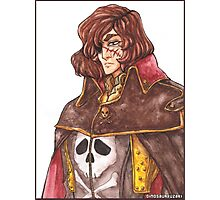 Captain Harlock: Space Pirate Photographic Print