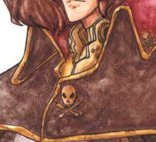 Captain Harlock: Space Pirate Sticker