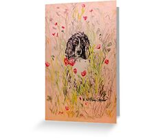 Wildflower Springer Greeting Card