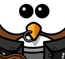 Punk Owl Sticker