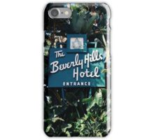 The Beverly Hills Hotel No.2 (Los Angeles) iPhone Case/Skin