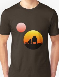 When Two Worlds Collide T-Shirt