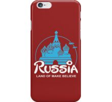 Russia funny nerd geek geeky iPhone Case/Skin