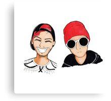 Cute Boys Canvas Print