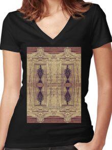 Ode to a Grecian Urn Palais Garnier Paris France Women's Fitted V-Neck T-Shirt