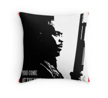 Don't Miss the King Throw Pillow