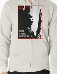 Don't Miss the King Zipped Hoodie