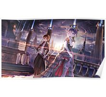 Togashi Yuuta and Takanashi Rikka Epic Art Poster