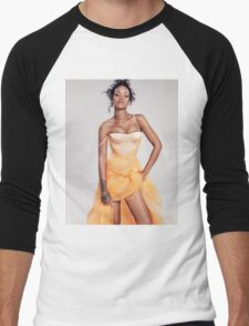 Sweet Rihanna 2 Men's Baseball ¾ T-Shirt