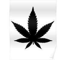 Marijuana/Cannabis iconic design Poster