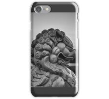 Foo Dog on Route 66-Moody iPhone Case/Skin