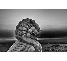 Foo Dog on Route 66-Moody Photographic Print