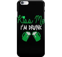 Kiss Me I'm Drunk | St. Patrick's Day iPhone Case/Skin