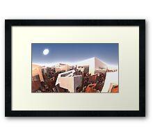 Box City Framed Print