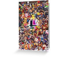 Smash Brothers Greeting Card