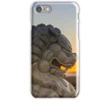 Foo Dog on Route 66 iPhone Case/Skin