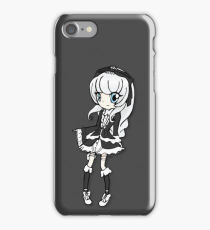 Gothic Lolita Girl iPhone Case/Skin