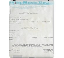 Patsy Cline, The Jordanaires, Country Music Time, USAF info  iPad Case/Skin