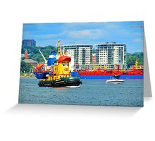 Halifax Harbour Greeting Card