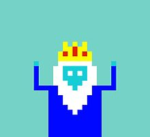 Ice King 8 Bit by frontbird54