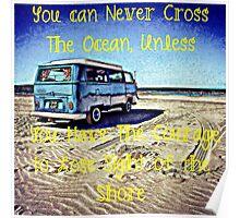Cross the Ocean Poster