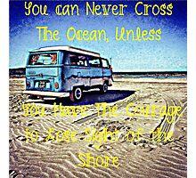 Cross the Ocean Photographic Print