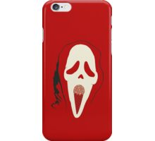 Scream for Ice Cream funny nerd geek geeky iPhone Case/Skin