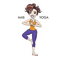 MAS YOGA Photographic Print