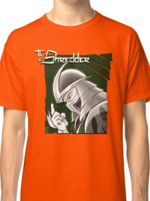 The Shredder - Ooze Canister Green Classic T-Shirt