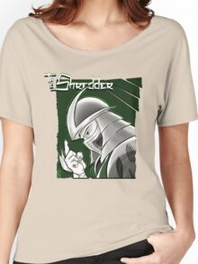The Shredder - Ooze Canister Green Women's Relaxed Fit T-Shirt