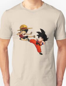 Goku vs Luffy T-Shirt