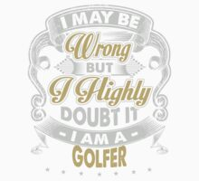 GOLFER COVERS Kids Clothes