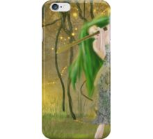 Wood Nymph - by Anne Winkler iPhone Case/Skin